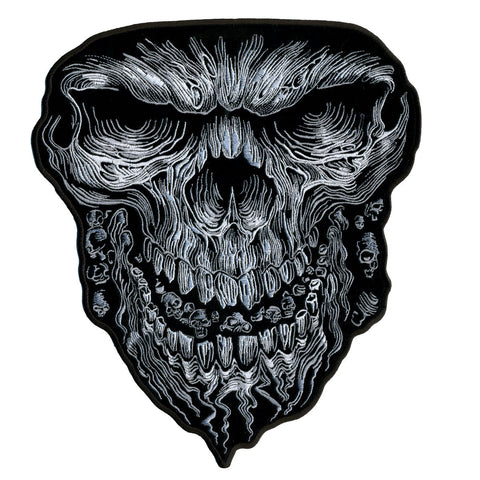 PATCH GIANT SKULL