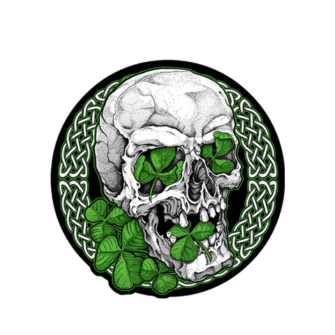 PATCH IRISH SKULL