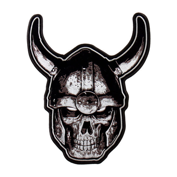 PATCH VIKING SKULL 2