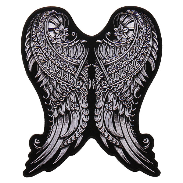 PATCH ORNATE ANGEL WINGS