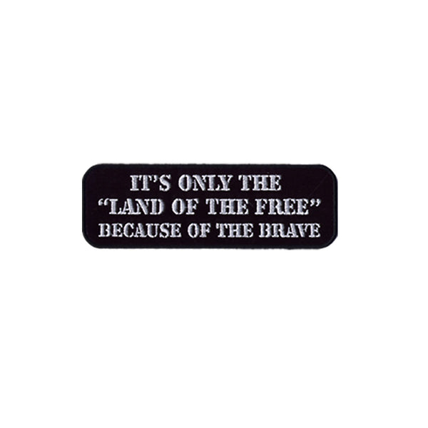 PATCH  LAND OF THE FREE