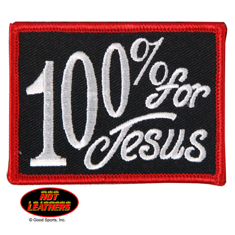 PATCH 100% FOR JESUS