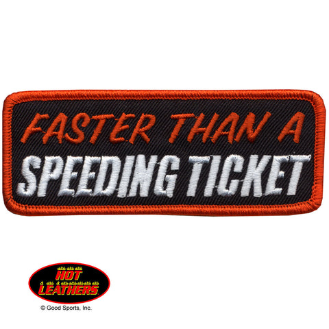 PATCH FASTER THAN A SPEEDING T