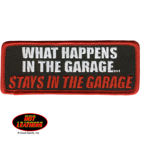 STAYS IN THE GARAGE PATCH