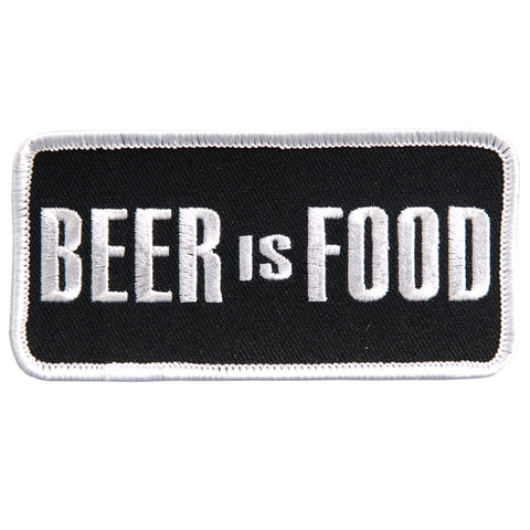 PATCH BEER IS FOOD
