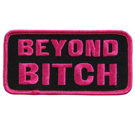 PATCH BEYOND BITCH