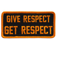 PATCH GIVE RESPECT GET RESPECT
