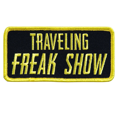 PATCH TRAVELING FREAK SHOW