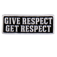 PATCH GIVE RESPECT