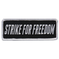 STRIKE FOR FREEDOM PATCH