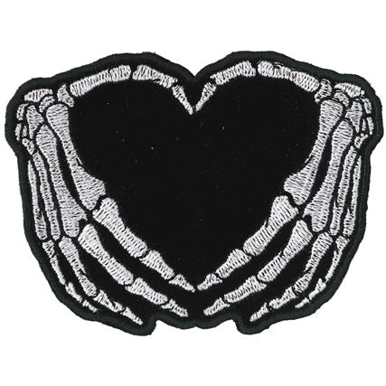 SKELETON HEART PATCH
