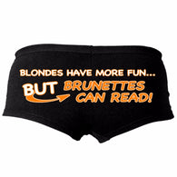 HOT PANTS BLONDES HAVE MORE FUN