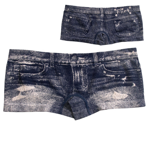HOT PANTS DENIM JEAN FLIRT