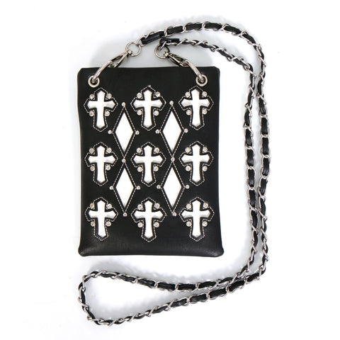 PURSE CUT OUT CROSSES