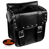 SADDLE BAG PVC SMALL WITH RIVETS
