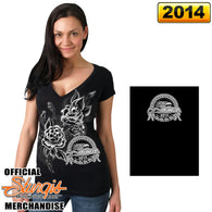 DOUBLE SIDED STURGIS GROWING SKULLS V