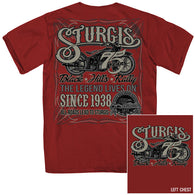 STURGIS SIMPLE LABEL DOUBLE SIDED