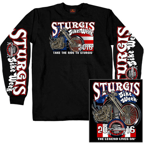 GSSI 16 KING N QUEEN LS DS - STURGIS - LONGSLEEVE