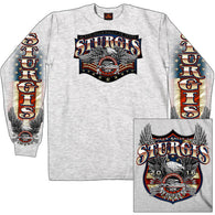 GSSI 16 FREEDOM EAGLE - STURGIS - LONG-SLEEVE - DOUBLE SIDED