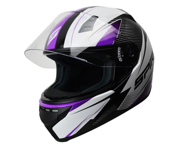 SPIRIT TYRO PURPLE - FULL FACE HELMET