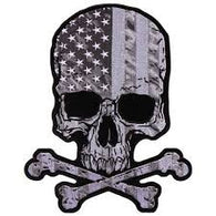 FLAG SKULL PATCH