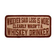 PATCH WHISKEY DRINKER