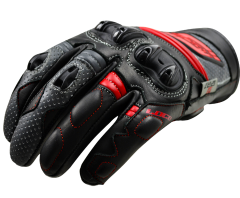 Loco Red Spirit Short Gloves