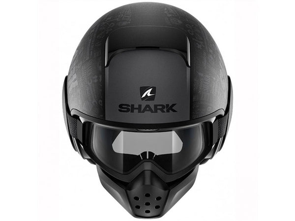 SHARK DRAK TRIBUTE-BLACK/GREY