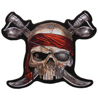 PATCH PIRATE SKULL 2