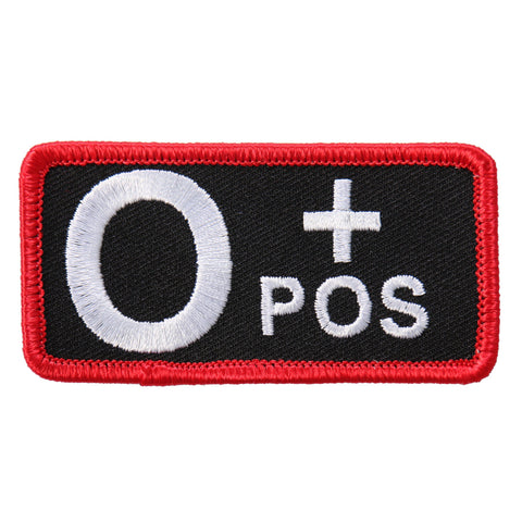 PATCH BLOOD TYPE O POS