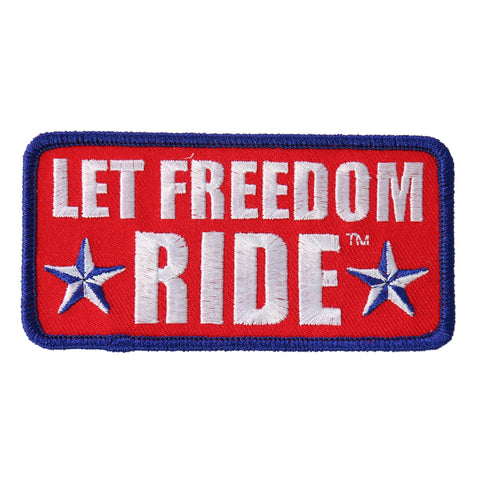 PATCH LET FREEDOM RIDE