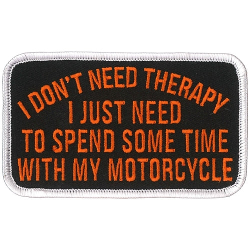 MOTORCYCLE THERAPY PATCH