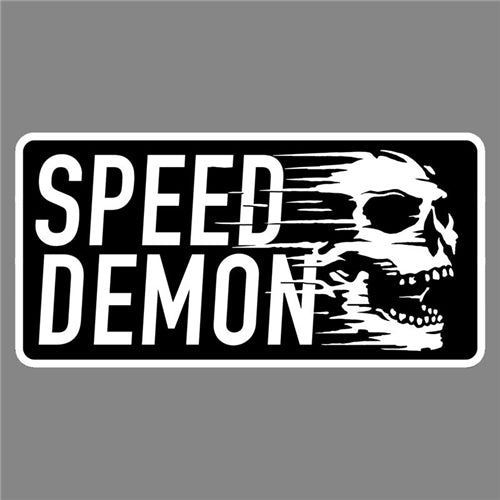 SPEED DEMON PATCH