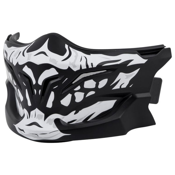 SCORPION EXO-COMBAT - MASK WHITE SKULL - SCORPION HELMET ACCESSORIES