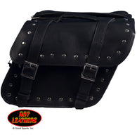 SADDLE BAG PVC SLANT W / RIVETS