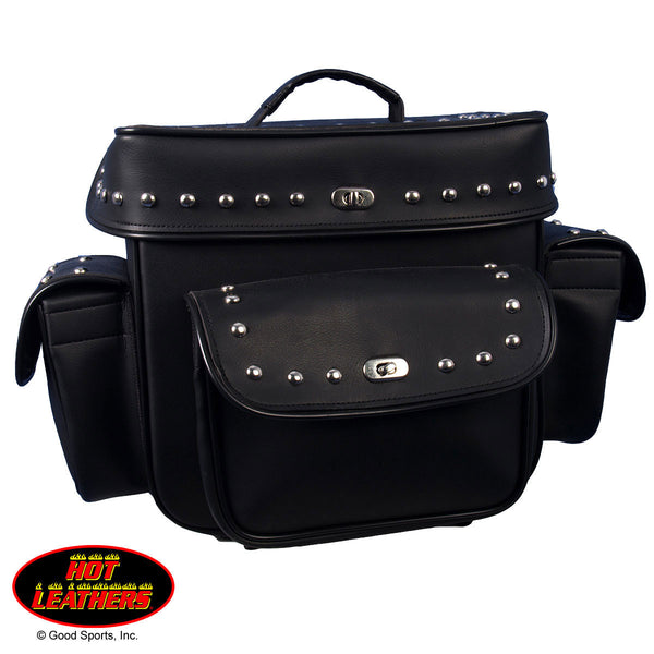TRAVEL BAG PVC FRONT & SIDE POCKETS