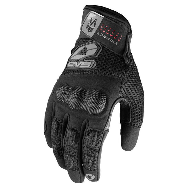 EVS STREET VALENCIA GLOVES - KNUCKLE PROTECTION - TEXTILE/LEATHER