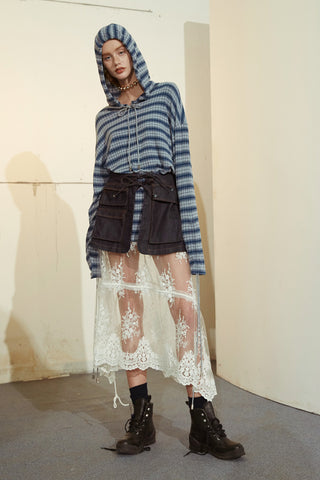 Lace Skirt--2016AW107
