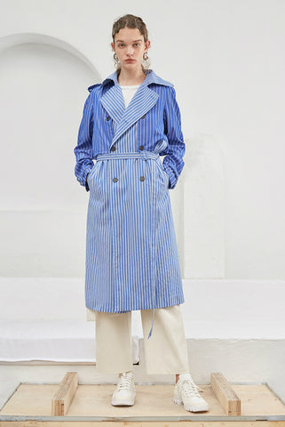 STRIPE RAINCOAT