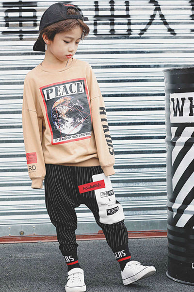 BOYS STRIPE PANTS