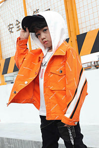 KIDS JACKET WITH HOOD
