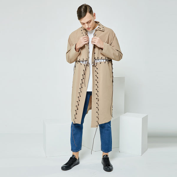 MENS LONG RAINCOAT