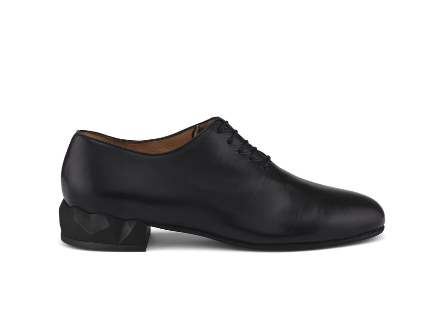 Alexis Black Leather Oxford