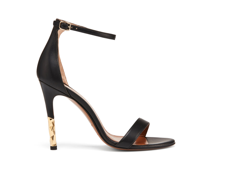 Lucian Black Stiletto Pump