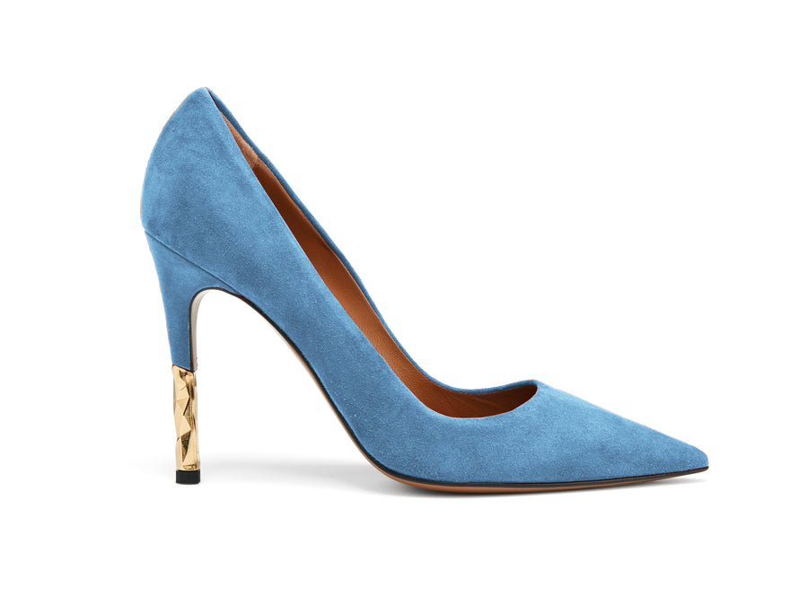 Rene Powder Blue Stiletto Pump