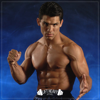 Lift Heavy Apparel & Frank Shamrock Join Up For Special Project