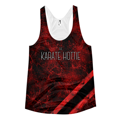 karate hottie top front