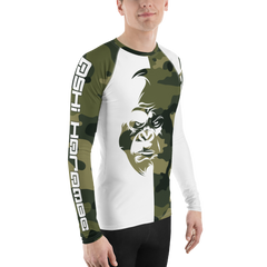 Men's Ashi Harambe Rashguard Lift Heavy Apparel Fight Club