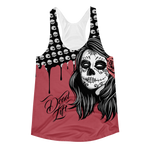 Day Of The Deadlift Women's Racerback Tank Top Lift Heavy Apparel