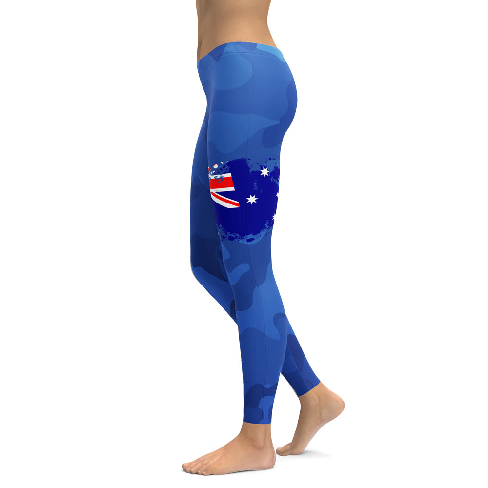 Patriot Women's Leggings - Choose Your Nation